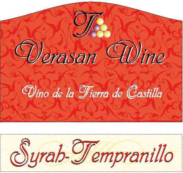 Etiqueta Verasan Wine